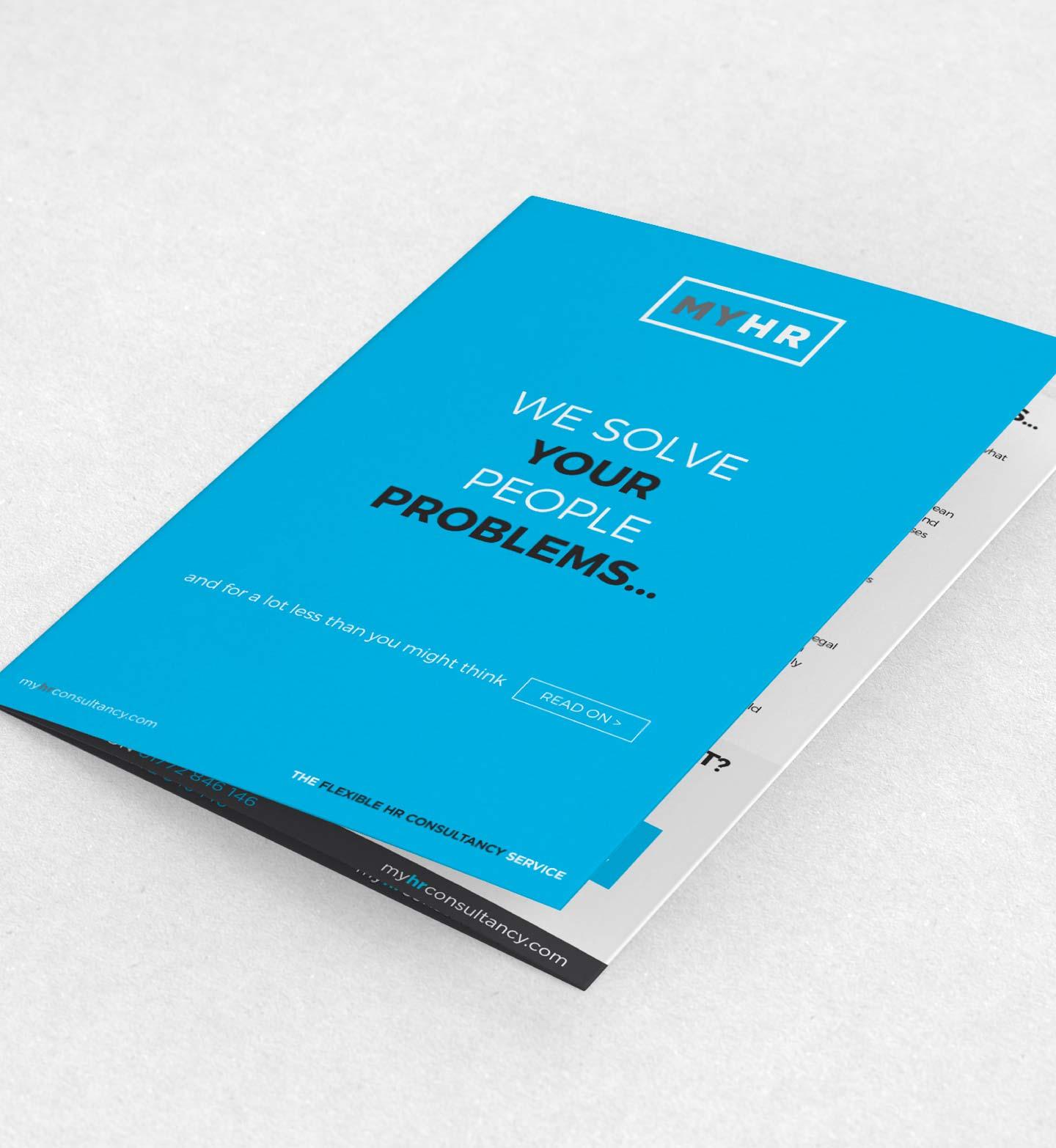 MY HR Branding, Print Materials & Website - Gossip Marketing