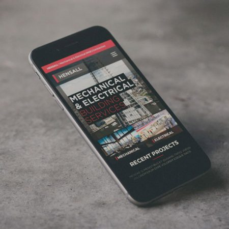 HENSALL Mobile Responsive Website